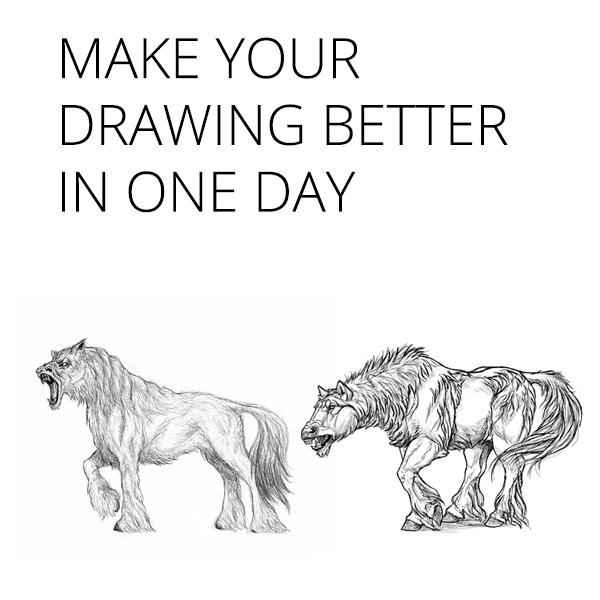 how to quickly improve at drawing