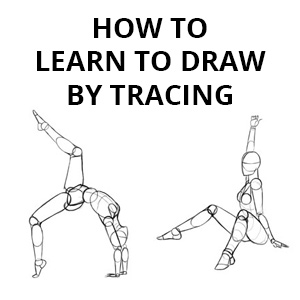 how to learn to draw by tracing
