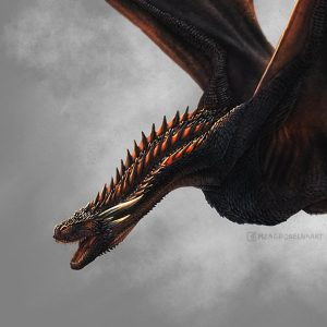 how to draw drogon game of thrones