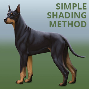 How to Shade in Digital Art: a Simple Method