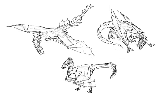 how-to-draw-dragons-vyvern examples