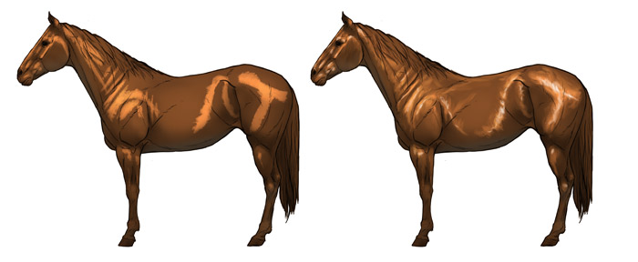 how-to-draw-horses-shading-shiny