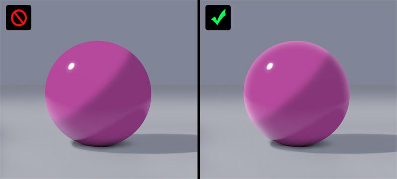 fresnel effect easy