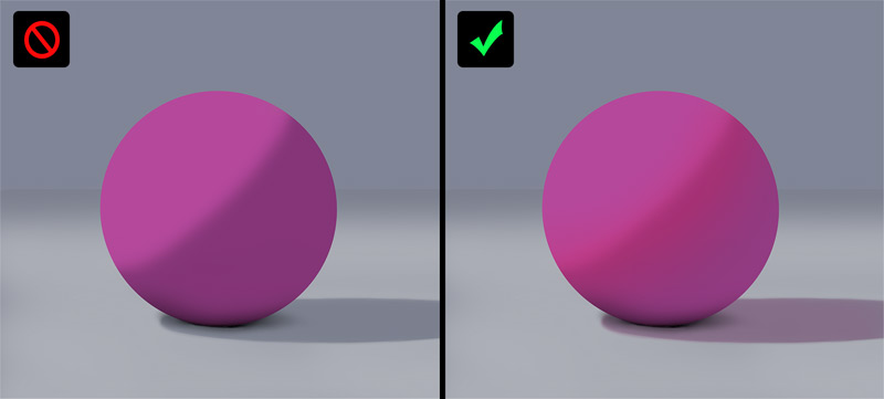 subsurface scattering effect
