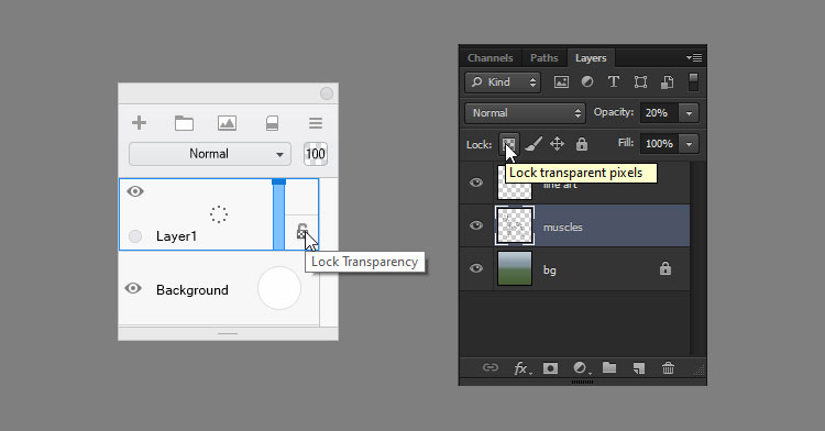 how to create clipping mask